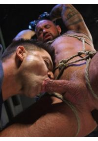 Indecent Exposure: Muscle Stud Michael Roman Gets His Hard Cock Milked